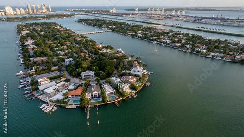 Obraz na płótnie Miami Beach Aerial