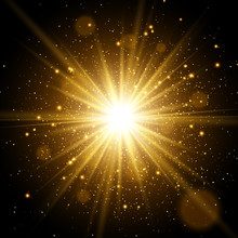 Light Effect. Star Burst With ...