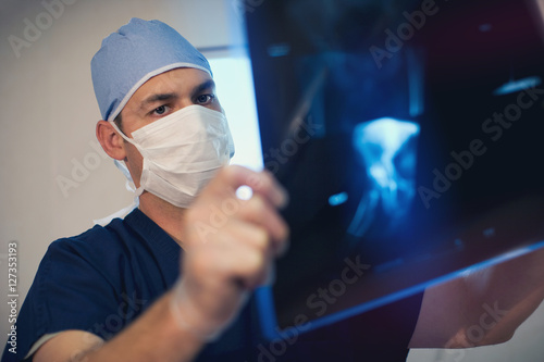 Fotografie, Obraz  X-Ray Analysis