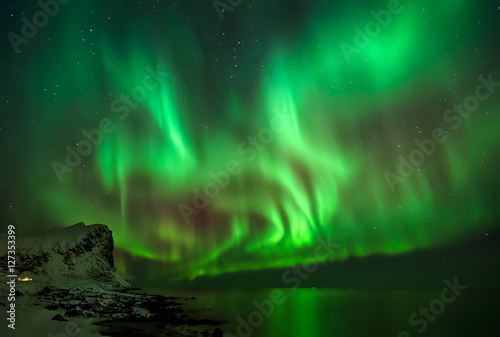 Photo  Aurora over Myrland