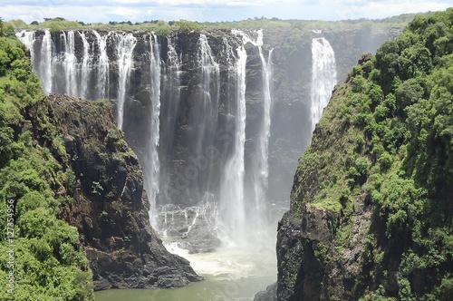 Foto op Aluminium Khaki Victoria Falls - Zimbabwe