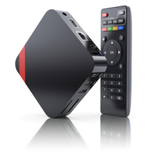 Multimedia And TV Box Receiver And Player With Remote Controller