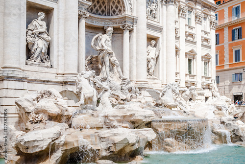 Papiers peints Fontaine Trevi Fountain, the most famous fountains in the world, Rome