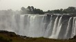 Victoria Falls in Zimbabwe as detailed 4K UHD footage