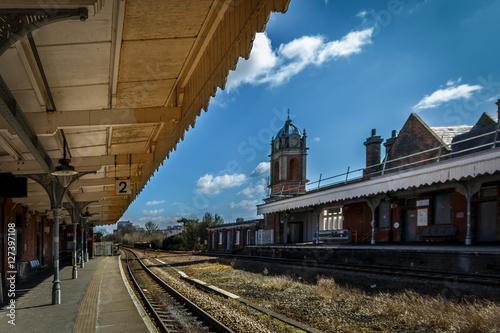 Fotografía  Railway Station in a sunny day, Bury St Edmunds