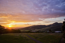 Sunrise Next To Arthurs Seat, ...