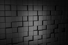 3d Black Background