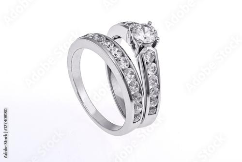 Fotografie, Obraz  Wedding rings set