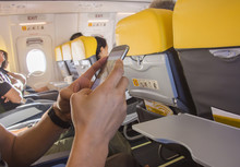 Use Telephone Chat Bussiness On The Airplane