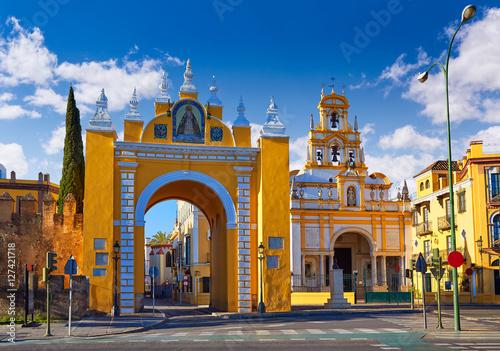 Seville Puerta la Macarena and Basilica Sevilla