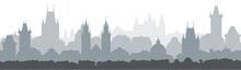 Cityscape Seamless Background....