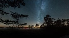 Milky Way Over Swampland In Germany