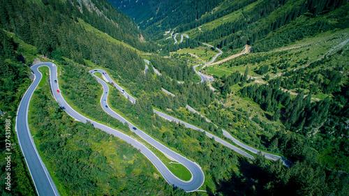 Fotografie, Obraz  Hochalpenstrasse Silvretta-Montafon / Galtür