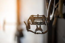 Bicycle Pedal With Sunset Back...