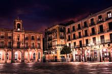 Zamora Plaza Mayor Sunset In S...