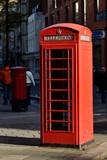 Fototapeta Londyn - London Phone Box