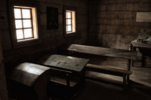 Vintage Interior Classrooms Of...