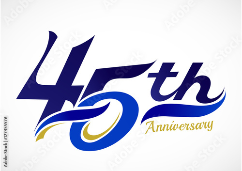 фотография  45th Years Anniversary Celebration Design