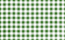 Green Picnic Cloth Background.