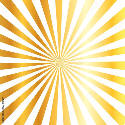 Fototapeta gold sunburst   abstract seasonal and festival decorate background obraz na płótnie