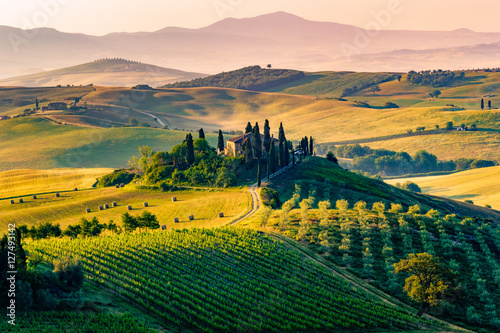 Photo Stands Tuscany Tuscany, Italy. Landscape