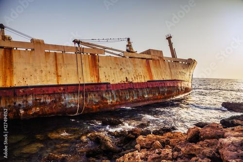 Poster Naufrage boatI shipwrecked