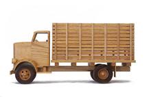 Wood Model Truck 3