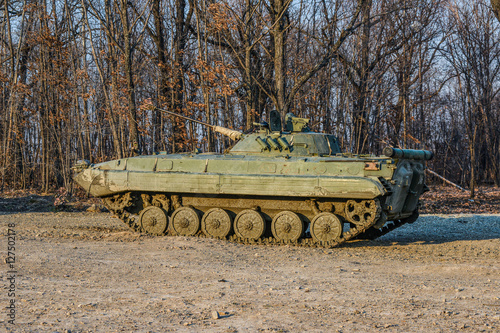 Fotografía  Russian infantry fighting vehicle BMP-2