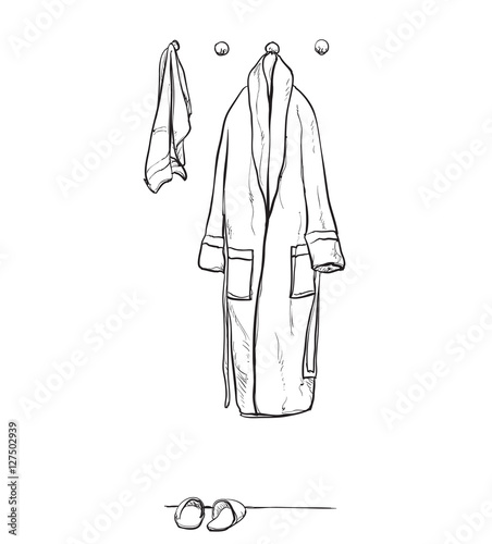7822a86ada Robe for the shower
