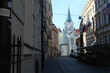 Backstreet in Old Town of Riga, Latvia