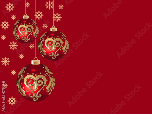 Christmas and New Yearu0027s Day greeting card mock up. Holidays