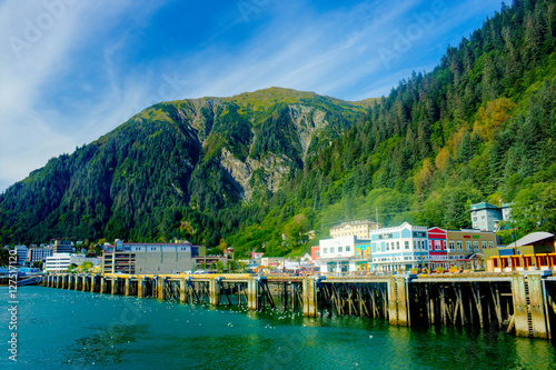 Photo  Juneau Dock