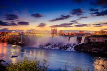 Niagara Falls In Ontario Canad...