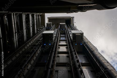 Fotografie, Tablou  Futuristic Elevators