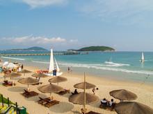 Yalong Bay Beach At Hainan Isl...