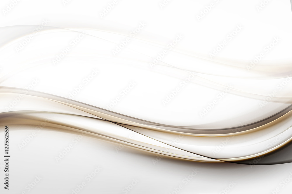Abstract Gold Lines Design Grey Background