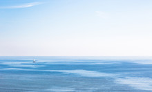 Lonely Sailboat