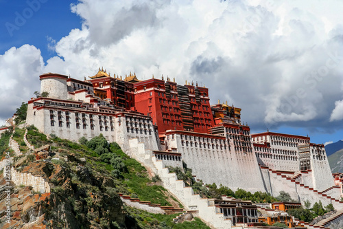 Fotografie, Obraz  Potala Palace in Tibet