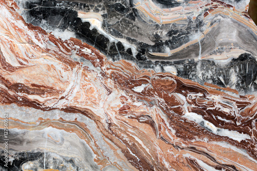 Canvas Prints Marble Multicolored marble texture for design.