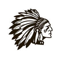 American Indian Chief. Logo Or...