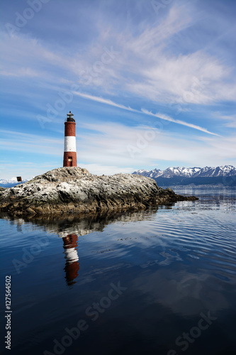 Photo Stands Lighthouse Lighthouse in beagle channel