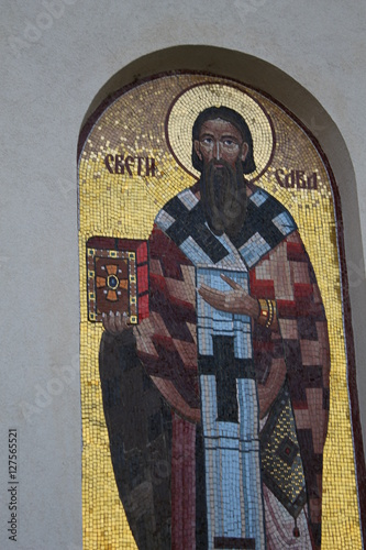 MOSAIC fresco CHURCH  MONASTERY © zzika