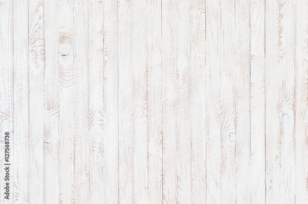 Fototapety, obrazy: white wood texture background