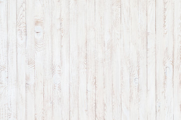Fototapetawhite wood texture background