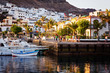 Hafen von Puerto Mogan im Abendlicht – Gran Canaria