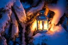 Christmas Scene - An Oil Fille...