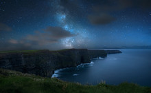 Milky Way Over Dramatic Cliffs...