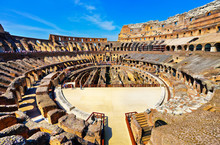 Interior View Of Colosseum In...