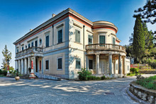Mon Repos In Corfu, Greece.