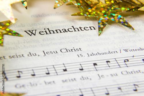 Fényképezés  Weihnachten, Gesangbuch